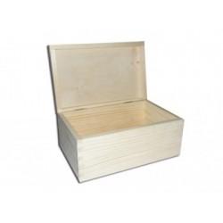 Pudełko drewniane prostokątne - baza do decoupage