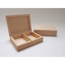 Pudełko drewniane na 2 talie kart