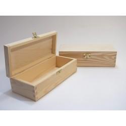 Pudełko prostokątne, drewniane do decoupage