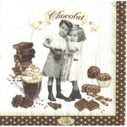 Serwetka do decoupage - Chocolat