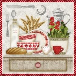Serwetka do decoupage - W kuchni