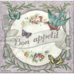 Serwetka do decoupage - Bon appetit