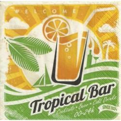 Serwetka do decoupage - Tropical bar