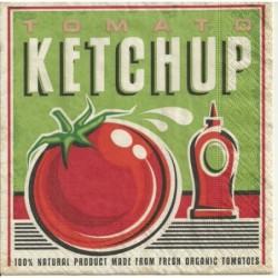Serwetka do decoupage - Ketchup