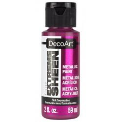 Farba metaliczna Extreme Sheen DecoArt DPM15 różowa