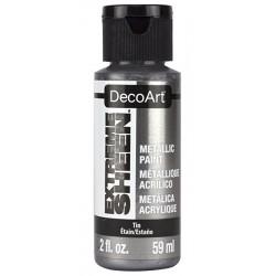 Farba metaliczna Extreme Sheen DecoArt DPM09 cyna