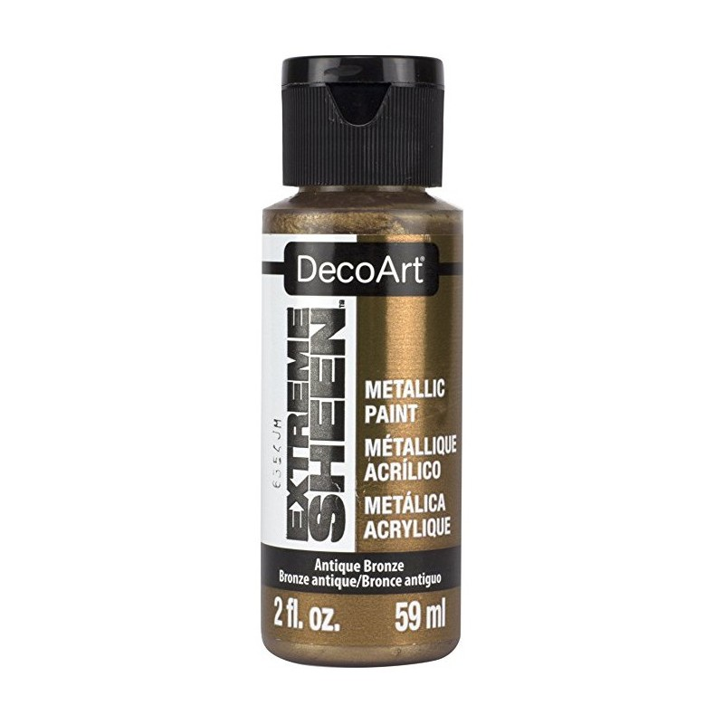 Farba metaliczna Extreme Sheen DecoArt DPM08 antyczny brąz