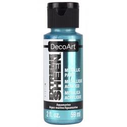 Farba metaliczna Extreme Sheen DecoArt DPM16 akwamaryn