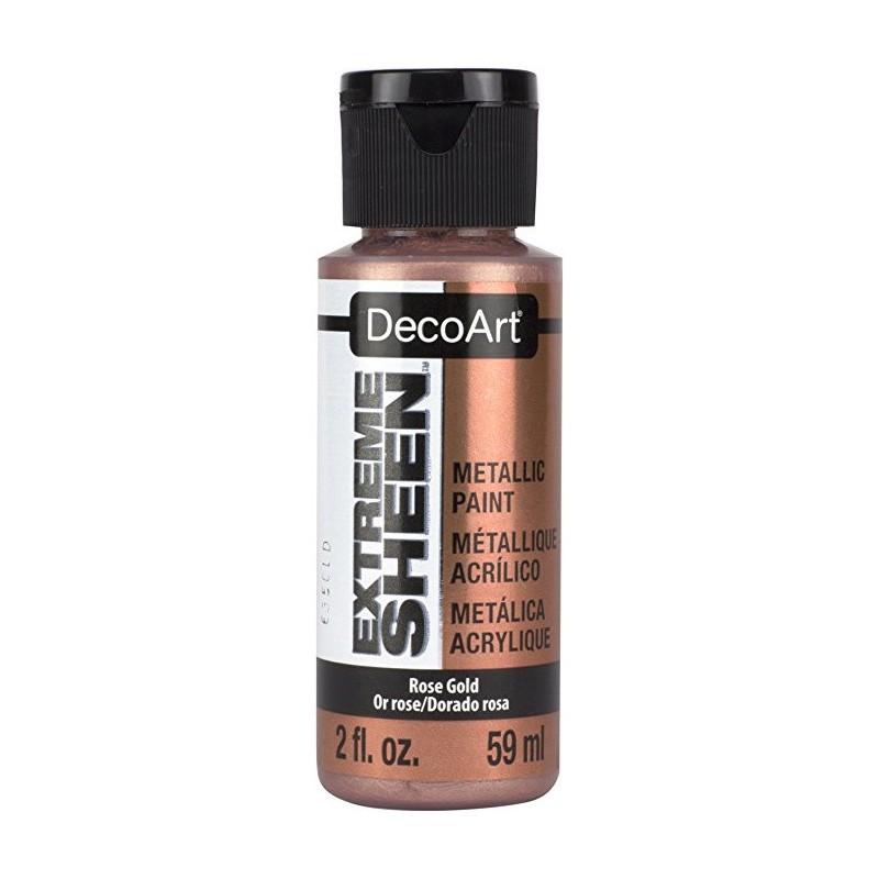 Farba metaliczna Extreme Sheen DecoArt DPM03 Rose Gold - różowe złoto