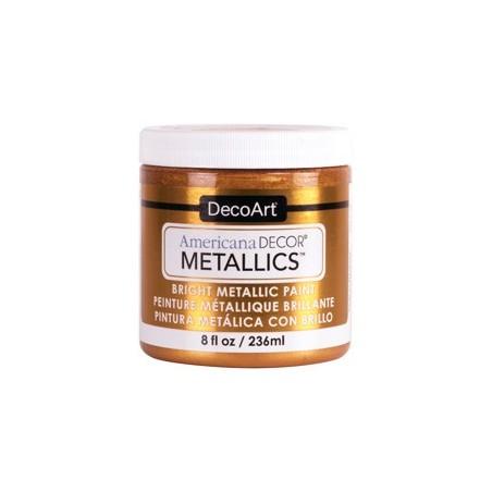 Farba metaliczna Americana DECOR Metallics, Bronze [ADMTL06], 236 ml