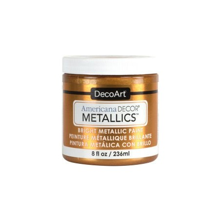 Farba metaliczna Americana DECOR Metallics, Old Gold [ADMTL11], 236 ml