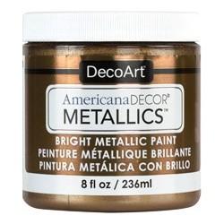 Farba metaliczna Americana DECOR Metallics, antyczny brąz - antique Bronze ADMTL08