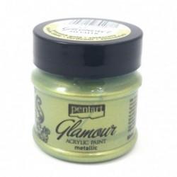 Farba metaliczna Glamour, zielone złoto