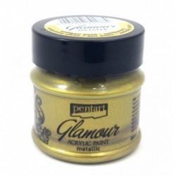 Farba metaliczna Glamour Pentart, antyczne złoto