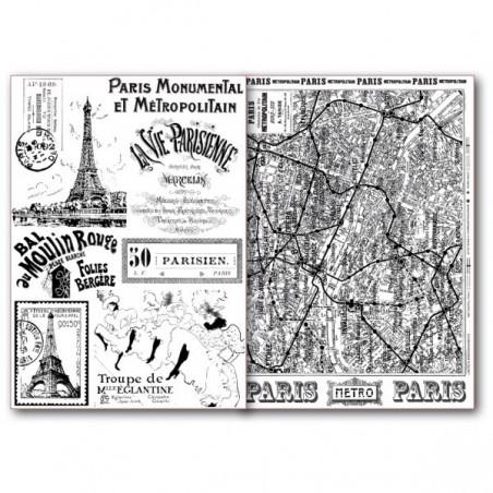 Papiery do transferów DFTR033, Paryż, 2 szt. A4