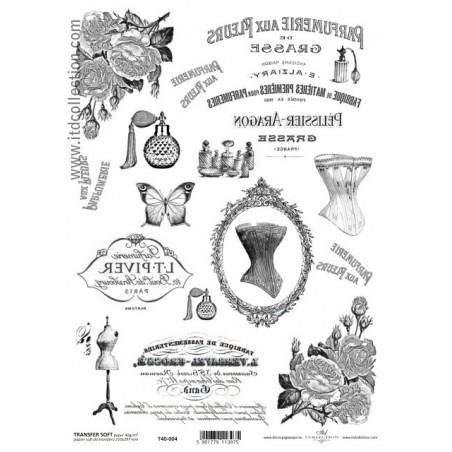 Papier do transferu A4 ITD T40-004, Perfumiere