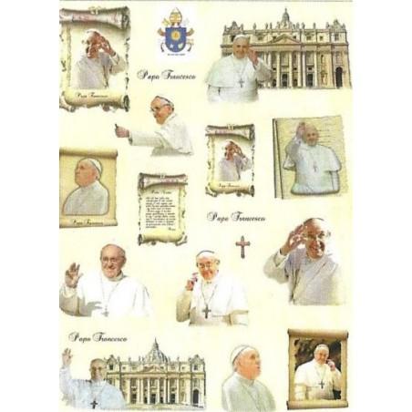 Papier ryżowy Decomania 5272, Papież  Franciszek