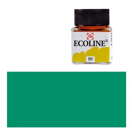 Farba akwarelowa w płynie, Ecoline 656 Forest Green, 30 ml