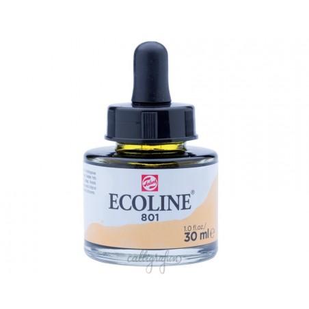 Farba akwarelowa w płynie, Ecoline 801 Gold, 30 ml