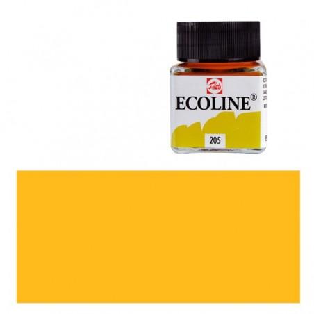 Farba akwarelowa w płynie, Ecoline 259 Sand Yellow, 30 ml