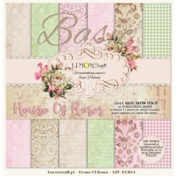 Zestaw papierów do scrapbookingu Dom Róż Reedycja - Lemoncraft