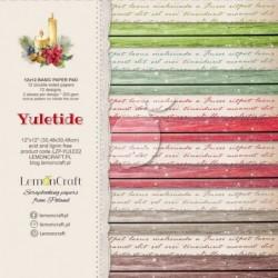 Zestaw papierów do scrapbookingu Yuletide Basic - Lemoncraft
