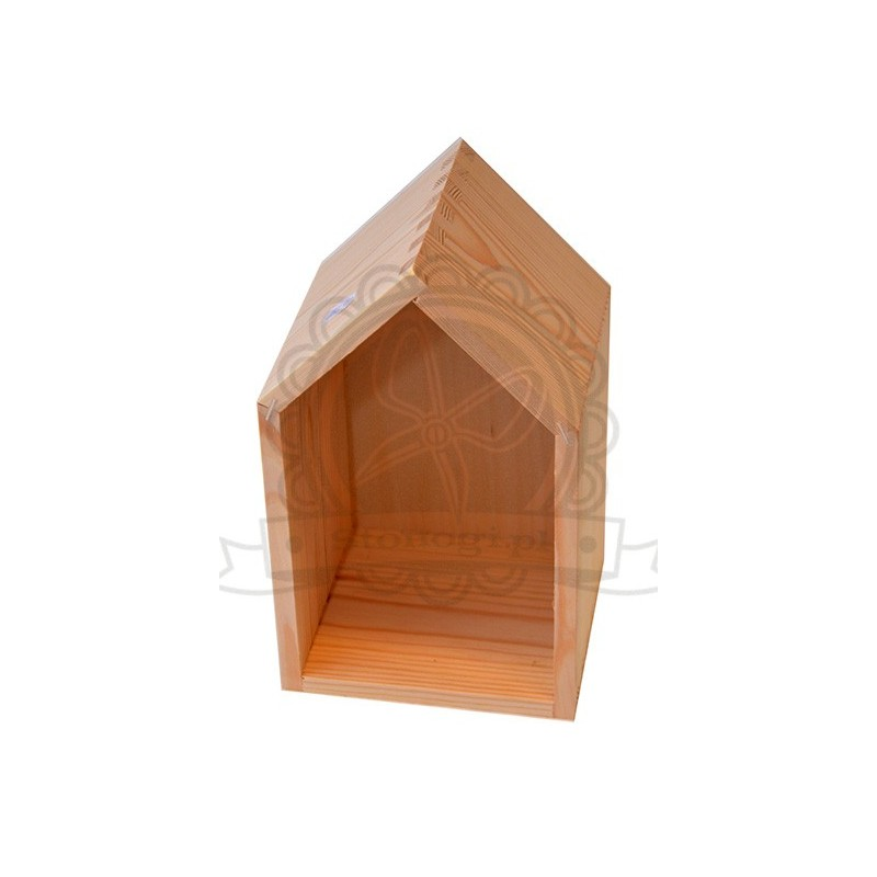 Drewniany domek.