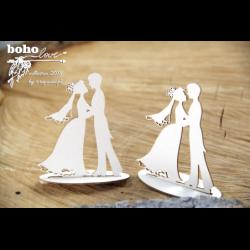 Elementy tekturowe 3D Scrapiniec 5159, Boho Love - Młoda para 3D