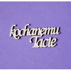 Tekturki do scrapbookingu, Kochanemu Tacie - Wycinanka