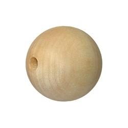 Drewniany koralik 3 cm.
