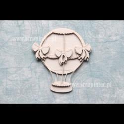 Elementy tekturowe Scrapiniec 2792 Latający balon z kokardkami