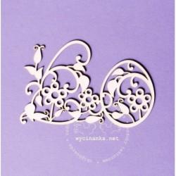 Wycinanka - Haft kaszubski - dekor z pisanką