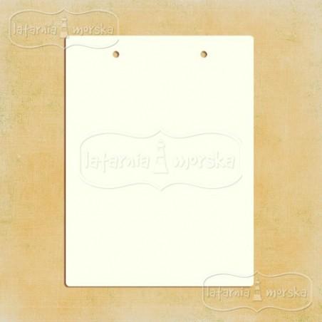 Baza albumowa, prostokątna z dziurkami 15x20 cm, 6 szt. [Latarnia]