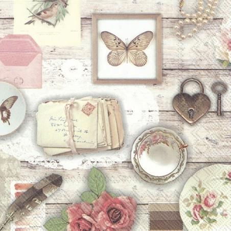 Serwetka - Romantycznie