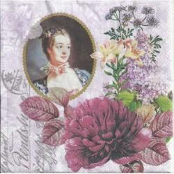 Serwetka - Madame pompadour