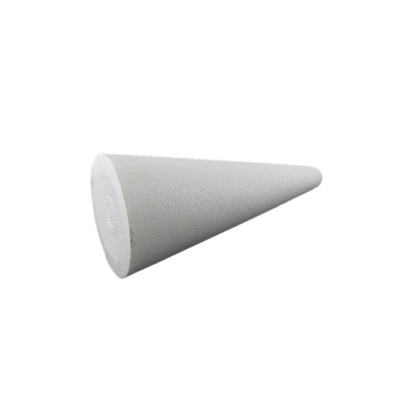 Stożek styropianowy 25 cm - bazy kreatywne