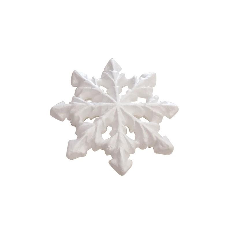 Śniezynka styropianowa 17.5 cm DIST074