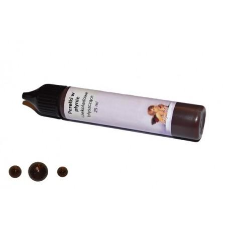 Perełki w płynie Daily Art - czekoladowe błyszczące