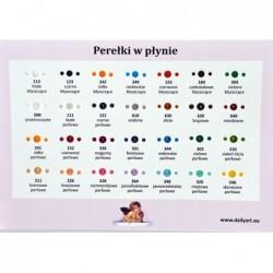 Perełki w płynie Daily ART, pearl deep pink - perłowe ciemnoróżowe, 25 ml