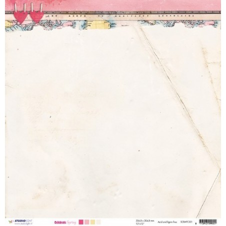 Papier do scrapbookingu 12x12, Celebrate Spring SCRAPCS01