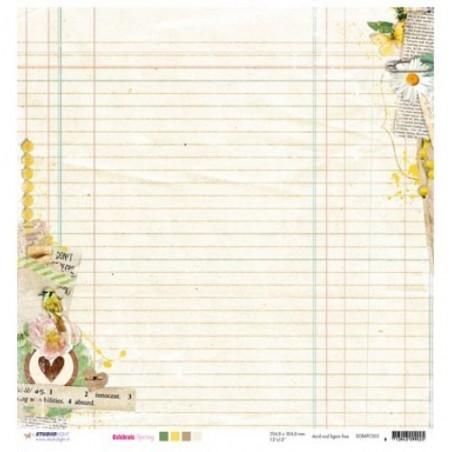 Papier do scrapbookingu 12x12, Celebrate Spring SCRAPCS03