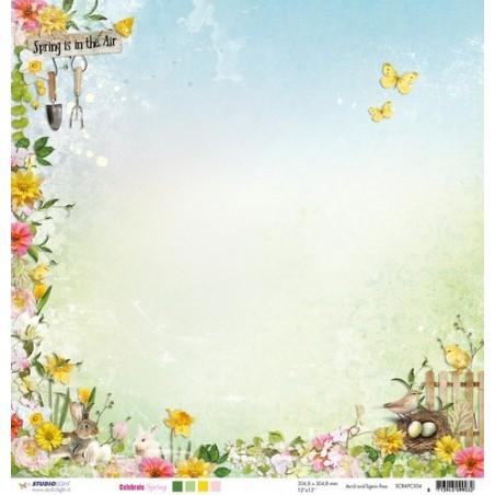 Papier do scrapbookingu 12x12, Celebrate Spring SCRAPCS04