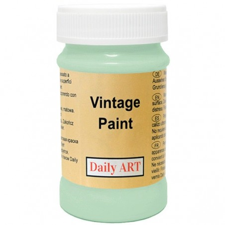 Farba kredowa Vintage, 860 aqua - seledynowa, 100 ml [Daily Art]