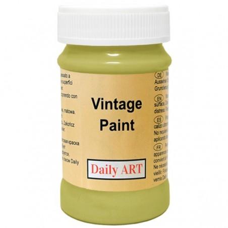 Farba kredowa Vintage, 295 avocado - groszek, 100 ml [Daily Art]