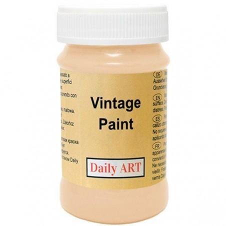 Farba kredowa Vintage, 392 bisque - biszkoptowa, 100 ml [Daily Art]