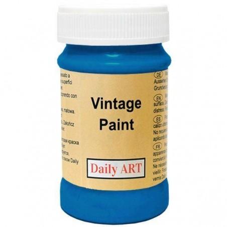 Farba kredowa Vintage, 850 deep blue - błękit paryski, 100 ml [Daily Art]