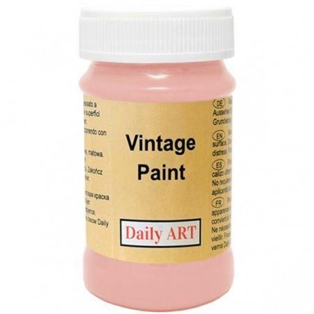 Farba kredowa Vintage, 395 desert rose - łososiowa, 100 ml [Daily Art]