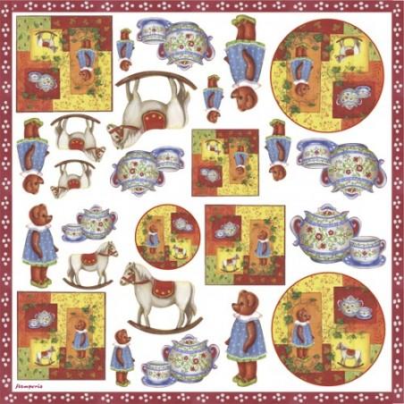 Serwetka ryżowa DFT138, Wspomnienia dzieciństwa