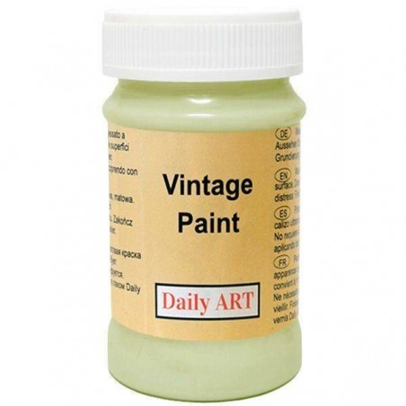Farba kredowa Vintage, 293 dusty green - pastelowa zieleń, 100 ml [Daily Art]