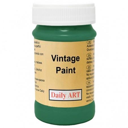 Farba kredowa Vintage, 290 forest green - zieleń lasu, 100 ml [Daily Art]